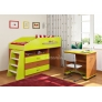 Детская кровать  Легенда 12.1 со столом