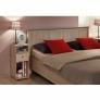 Кровать 1800 двуспальная 41 Sherlock (дуб сонома)