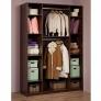 Шкаф для одежды и белья 60 Sherlock (орех шоколадный)