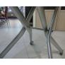 Стол-трансформер B2176-C белый лак