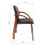 Кресло для посетителей CHAIRMAN 659 PU
