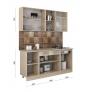 Готовый комплект модульной кухни Агата 1,7 м
