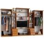 Гостиная Альберт со шкафами (ольха)