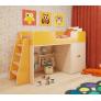 Кровать чердак игровая Апельсин