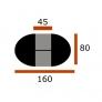 Стол Лион-КЛ 80х120/165