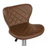 Барный стул Кадиллак WX-005 экокожа, коричневый