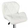 Барный стул Алмаз WX-2582 экокожа, белый