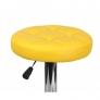 Барный стул Орбита WX-2008, экокожа желтый