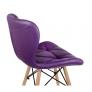 Стул обеденный Перфекто WX-854, экокожа фиолетовый