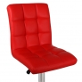 Барный стул Крюгер WX-2516 экокожа, красный