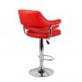 Барный стул Касл WX-2916 экокожа, красный