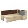 Кухонный диван угловой Кристина (вельвет люкс)