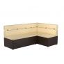 Кухонный диван угловой Классик (экокожа)