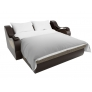 Прямой диван Меркурий (корфу 02/коричневый) корфу экокожа