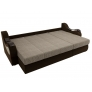 Угловой диван Меркурий коричневый (корфу 02/микровельвет)