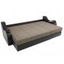 Угловой диван Меркурий черный (корфу 02/экокожа)