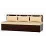 Кухонный диван Метро (экокожа)