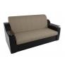 Прямой диван Сенатор (корфу 02/черный)