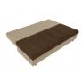 Прямой диван Спенсер (коричневый\бежевый) микровельвет