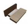 Прямой диван Спенсер (бежевый\коричневый) микровельвет