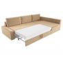 Угловой диван Версаль (вельвет бежевый)