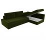 Угловой диван Версаль (вельвет зеленый)