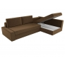 Угловой диван Версаль (вельвет коричневый)