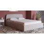 Кровать Илона 180 (Ролан 0475/1 рогожка льняной) с подъемным механизмом