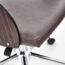 Кресло JAZZ палисандр, кож/зам, коричневый, 4230