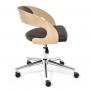 Кресло JAZZ дуб, кож/зам, коричневый, 4230
