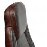 Кресло BAZUKA кож/зам, серый/коричневый