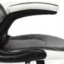 Кресло BAZUKA кож/зам, серый/белый