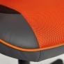 Кресло RACER GT кож/зам/ткань, металлик/оранжевый, 36/07