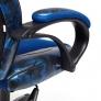 Кресло RACER GT MILITARY, синий/синий, TW 10