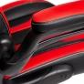 Кресло Rocket кож/зам, черный/красный