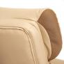 Кресло DUKE кож/зам/ткань, бежевый/бронза