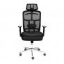 Кресло MESH-6 ткань, черный