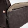 Кресло CHARM экошерсть/кож/зам, коричневый/коричневый