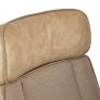 Кресло CHARM экошерсть/кож/зам, коричневый/бежевый