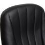 Кресло СН833 кож/зам, черный, 36-6