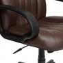 Кресло СН833 кож/зам, коричневый, 36-36