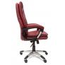 Кресло COMFORT иск. кожа, бордовый