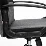 Кресло СН757 ткань, серый/чёрный, 207/2603