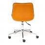 Кресло STYLE флок, оранжевый, 18