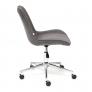 Кресло STYLE флок, серый, 29