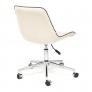 Кресло STYLE флок, молочный, 4
