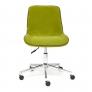 Кресло STYLE флок, олива, 23