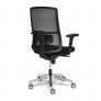 Кресло TELA ALU ткань, черный