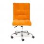 Кресло офисное «Зеро» (Zero orange) флок