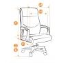 Кресло из кожи «Импрэза» (Impreza)